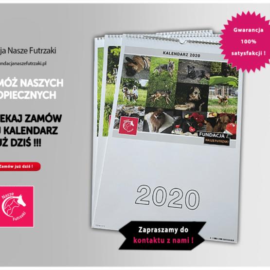 Projekt kalendarza dla Fundacji Nasze Futrzaki