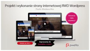Strona internetowa RWD WordPress